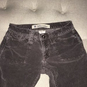 Gap low rise boot cut corduroy pants